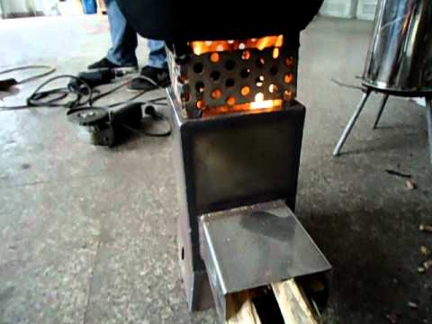 Improved Mini Rocket Stove