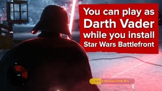 Gameplay tutorial Darth Vader