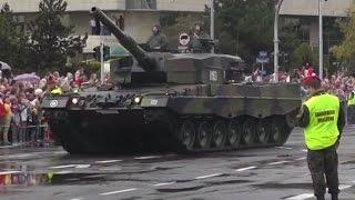 Defilada z okazji Święta Wojska Polskiego 2016