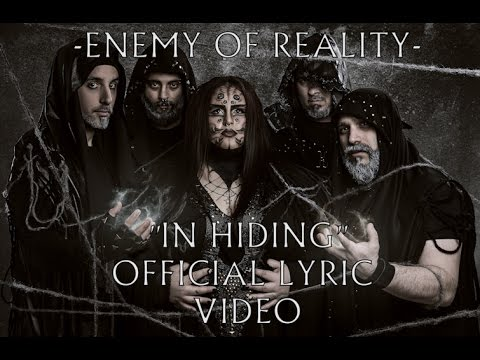 Enemy Of Reality - In Hiding (Official Lyric Video)