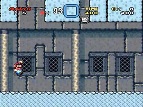 Super Mario World - Low Score Challenge (500 points) (видео)