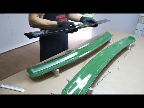 Видео как сделать спойлер своими руками