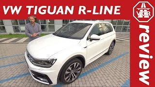 2016 Volkswagen VW Tiguan R-Line 240 hp TDI - In Depth Review, Full Test, Test Drive by Video Car Review