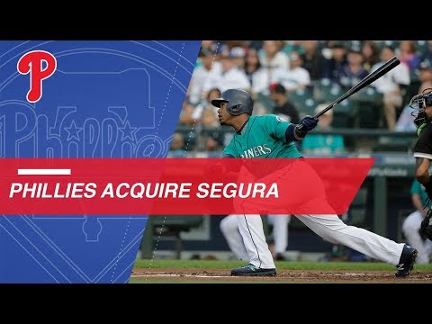 Video: Phillies acquire Jean Segura from the Mariners