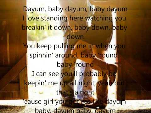 Dayum Baby by Florida Georgia Line With Lyrics