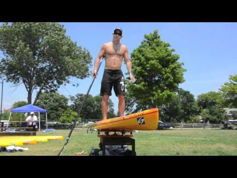 Jimmy Terrell Dry Land Paddle Clinic