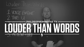 PNTV: Louder Than Words by Todd Henry