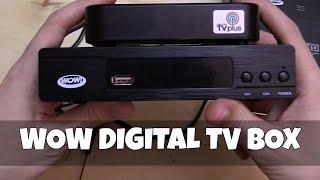 Video WOW Digital TV Box MP3, 3GP, MP4, WEBM, AVI, FLV November 2018