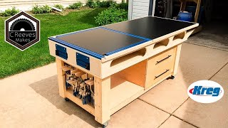 Video CReeves Makes the Mobile Outfeed Assembly Table with Kreg Features ep020 MP3, 3GP, MP4, WEBM, AVI, FLV Juli 2019