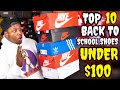 Top 10 Back To School Sneakers For Under 100
