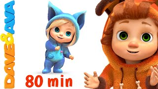Video If You're Happy and You Know It | Nursery Rhymes Collection and Baby Songs from Dave and Ava MP3, 3GP, MP4, WEBM, AVI, FLV Juni 2019