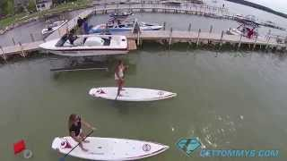 Some of the highlights from the 2nd annual Walloon Watersports Festival with the Grand City Show skiers.