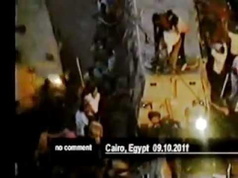 """بالفيديو.. مدرعة تدهس 5 من متظاهري ماسبيرو وتحولهم لـ""""مطب بشري"""""""