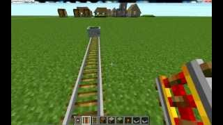 Minecraft: How to make Rails, Powered rails, Detector rails and minecart