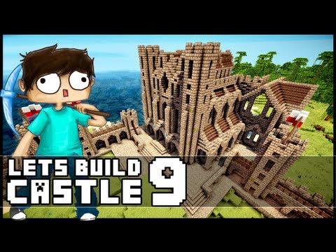 Minecraft Walkthrough Lets Build Modern House 6 Part 13