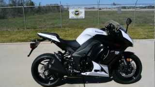 9. On sale now $8,999: 2013 Kawasaki Ninja 1000 in Pearl Stardust White
