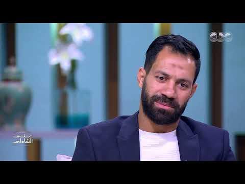 شاهد بكاء حسني عبد ربه لحظة إعلانه الاعتزال