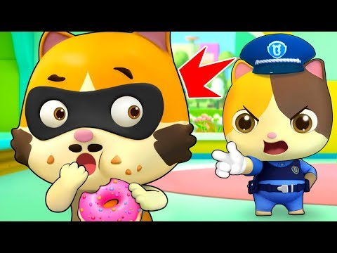 Johny Johny Yes Papa (Kitten Police) | Learn Numbers | Nursery Rhymes | Kids Songs | BabyBus
