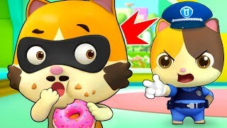Video Johny Johny Yes Papa (Kitten Police) | Learn Numbers | Nursery Rhymes | Kids Songs | BabyBus MP3, 3GP, MP4, WEBM, AVI, FLV April 2019