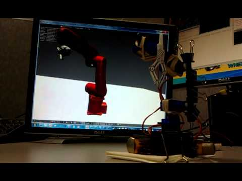 Blender 2.59 Real-Time Robot Arm Test