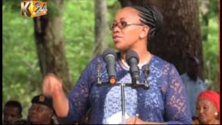 9. CS Sicily Kariuki launches NYS cohort program in Kinango