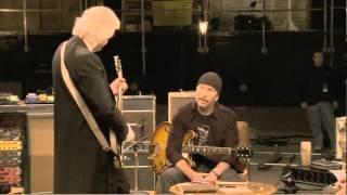 KASHMIR Chords  Jimmy Page, Jack White,  Edge
