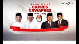 Video (Full) Debat Kelima Pilpres 2019: Ekonomi, Kesejahteraan Sosial, Keuangan, Investasi, dan Industri. MP3, 3GP, MP4, WEBM, AVI, FLV April 2019