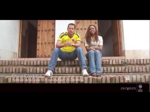 Proexport y Óscar Córdoba promocionan el Mundial Sub20 2011 - Cali