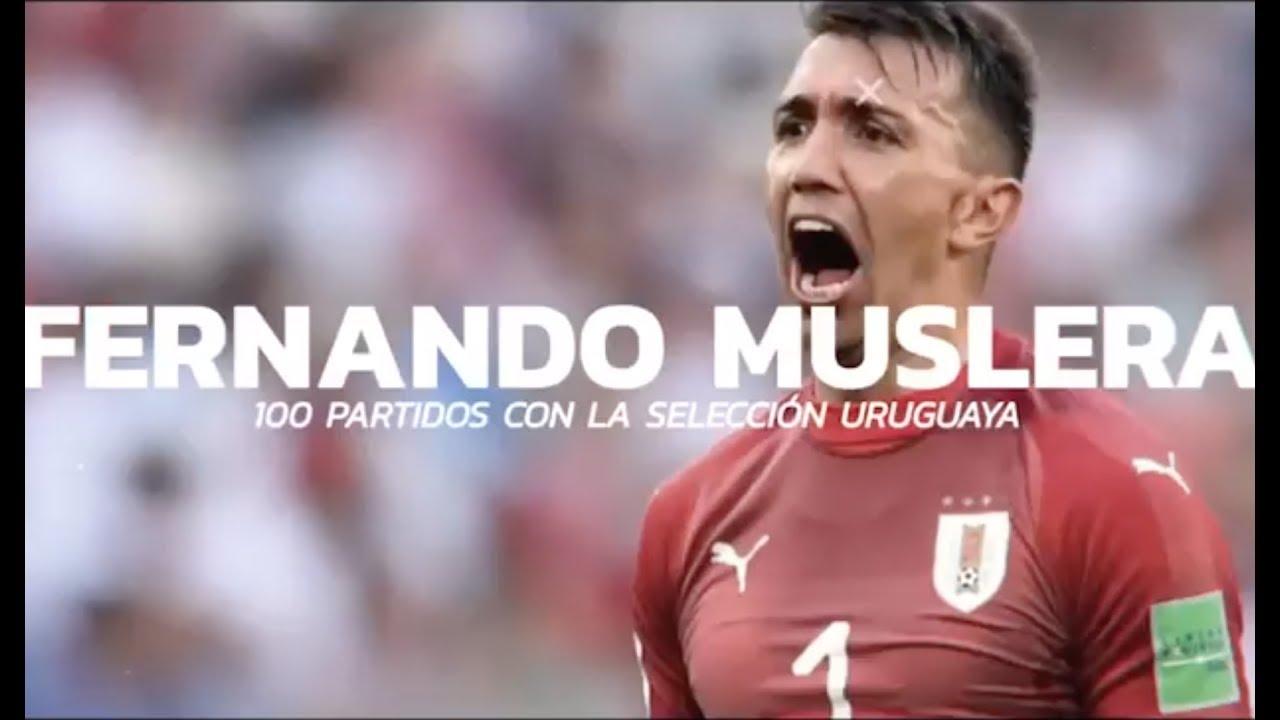 100 partidos de Fernando Muslera - Homenaje