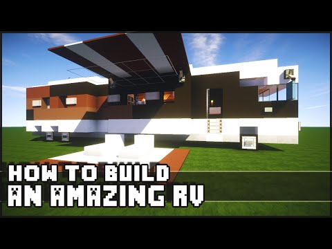 Minecraft Vehicle Tutorial – How to Build : Epic RV!