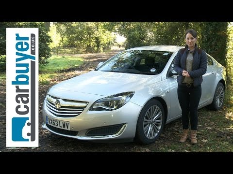 Vauxhall Insignia hatchback review – CarBuyer