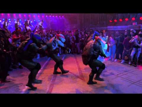 'Ninja Rap' scene from Teenage Mutant Ninja Turtles II