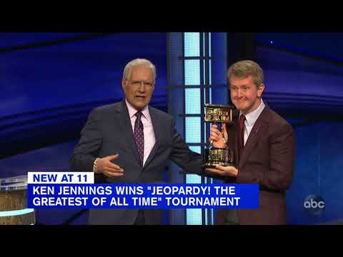 'Jeopardy! The Greatest of All Time': Ken Jennings takes GOAT title in Game 4