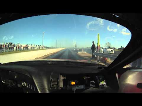 Boost Logic Supra Drag Car Record Run (Go Pro)