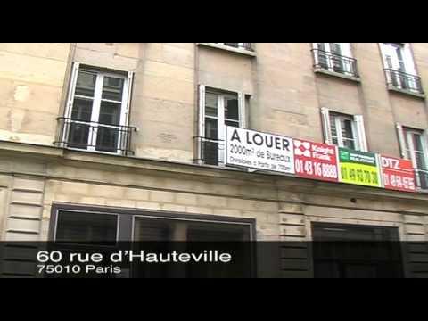 Office Space at 60 rue d'Hauteville, 75010 Paris