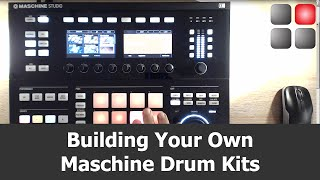 Building Maschine Drum Kits