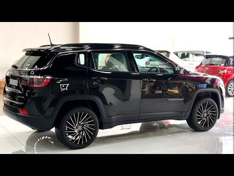Jeep Compass Modified With Beautiful Alloy Wheels