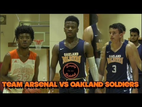 Adidas Vs Nike EYBL I Team Arsenal Vs Oakland Soldiers Top Norcal Teams I Jason Roche CATCHES FIRE