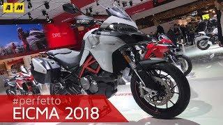 6. Ducati Multistrada 950 e 950 S - EICMA 2018 [ENGLISH SUB]