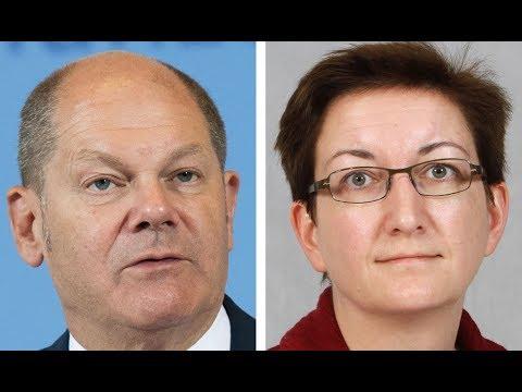 SPD: Scholz und Geywitz wollen als Doppelspitze die »SP ...