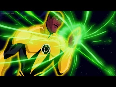 Sinestro's attack on Oa part 1/2 (Green Lantern: First Flight)