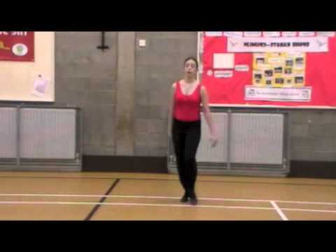 Doogan - Blue Riband Tap, Timestep Routine. Gillian Doogan School of Dance.
