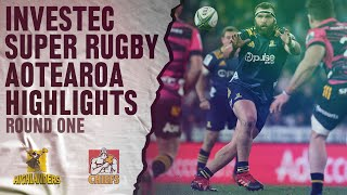 Highlanders v Chiefs Rd.1 Super rugby Aotearoa video highlights | Super Rugby Aotearo
