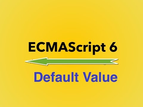 ‪5-  ES6 || Default Value‬‏