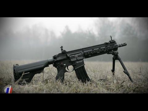 HK 416 F : Présentation du fusil d'assaut