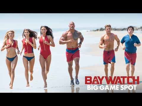 Super Bowl Spot for Baywatch Starring Dwayne Johnson  Zac