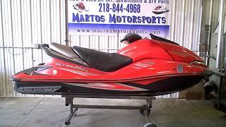 10. 2008 Kawasaki RED ULTRA 250X JET SKI Tear Down Into Parts LOT 3581A