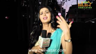 Meenakshi Dixit Speaks at Thenaliraman Movie Audio Launch