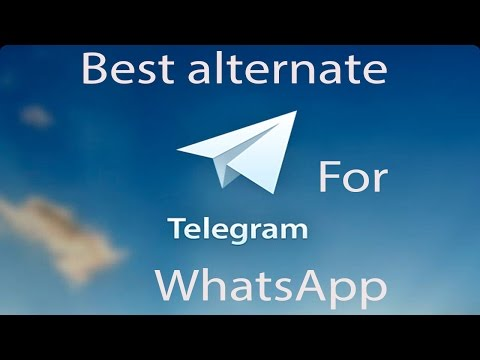 Best Alternative For Whatsapp - Telegram