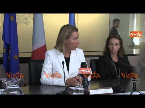 NY Mogherini massima attenzione su minacce terroristiche nessuna segnalazione concreta